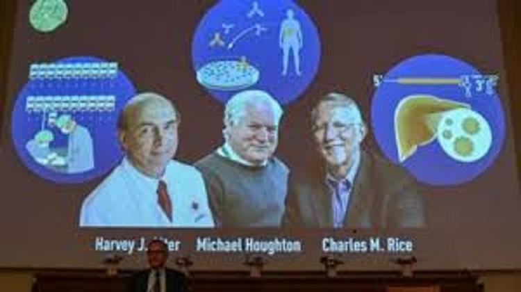 Nobel Prize in Medicine awarded to Harvey Alter, Michael Houghton, Charles Rice for discovering Hepatitis C virus